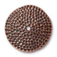 "1"" Hammertone Disk - Ant. Copper"