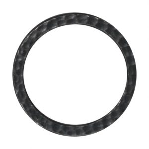 "1"" Hammertone Ring - Black"