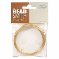26 Gage Gold Bead Smith Wire