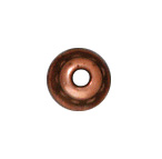 4mm Beaded Bead Cap - Antique Copper