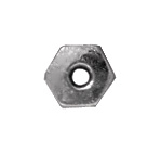 4mm Hex - Rhodium