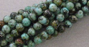 African Turquoise - 6mm Round