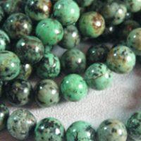 African Turquoise - 10mm Round