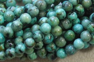 African Turquoise - 4mm Round