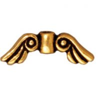 Angel Wing - Antique Gold