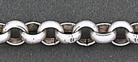 Antique Mat Silver Chain