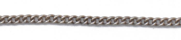 Antique Mat Silver Chain