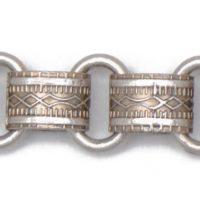 Antique Matte Silver Chain