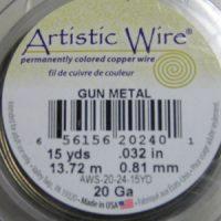 Artistic Wire - Gunmetal (Bronze)