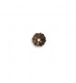 Bead Cap -  7.5mm Pinwheel Bead Cap