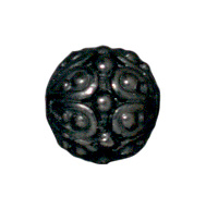 Casbah Round Beads - Black