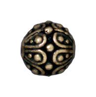 Casbah Round Beads - Brass Oxide