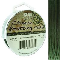 Chinese Cord - .8mm - Dark Green