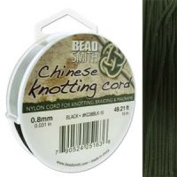 Chinese Cord - .8mm - Black