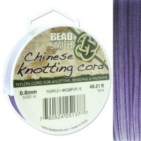 Chinese Cord - .8mm - Purple