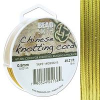 Chinese Cord - .8mm - Gold
