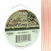 Chinese Cord - .8mm - Pink