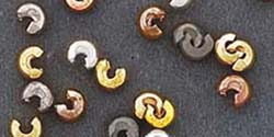 Crimp Covers - Antique Brass