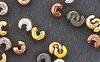 Crimp Covers - Antique Mat Silver