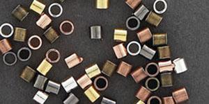 Crimping Tubes - Antique Copper - 2x2mm