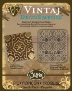 Deco Emboss Die - Moroccan Tile by Sizzix