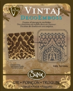 Deco Emboss Die - India Archway by Sizzix