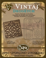Deco Etch Die - Vintage Embroidery by Sizzix