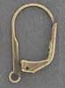 Ear Wire - Leverback - Antique Brass