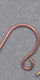 Ear Wire - Plain - Antique Copper