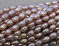 Fresh Water Pearl Mauve