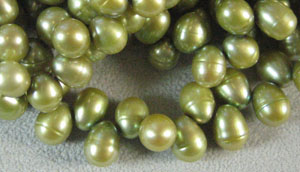 Fresh Water Pearl Sage Green