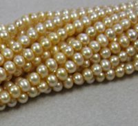 Fresh Water Pearl Golden Champagne