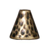 Hammertone Bead Cone - Brass Oxide
