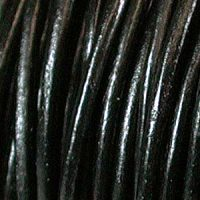 Leather - .5mm - Black