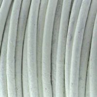 Leather - 1mm - White