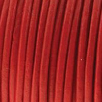 Leather - 1mm - Red