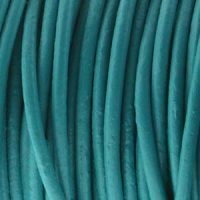 Leather - 2mm - Turquoise