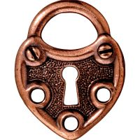 Lock - Antique Copper