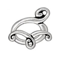 Melody Toggle - Antique Silver
