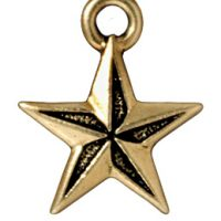 Nautical Star - Antique Gold
