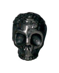 Rose Skull - Black
