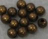 Round - 3mm Bead - Ant. Brass