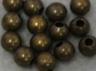 Round - 4mm Bead - Ant. Brass