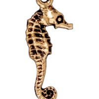 Seahorse - Antique Gold