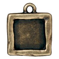 Simple Square Frame - Brass Ox