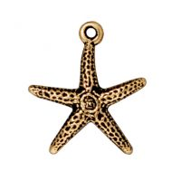 Starfish - Antique Gold