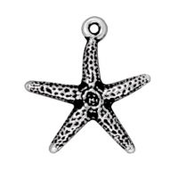 Starfish - Antique Silver