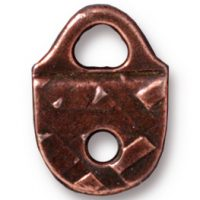 Strap Tip - Rock & Roll - Antique Copper
