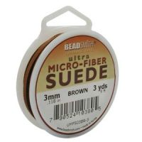 Ultra Micro Fiber Suede - 3mm - Brown
