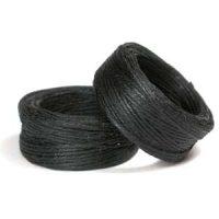 Waxed Linen - Black